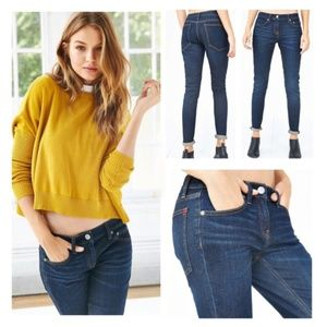 Urban Outfitters BDG Mid Rise Dark Norris Jeans